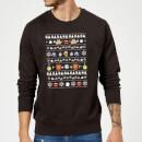 disney-the-muppets-weihnachtspullover-schwarz-s-schwarz