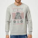 star-wars-darth-vader-weihnachtspullover-grau-s-grau, 28.49 EUR @ sowaswillichauch-de
