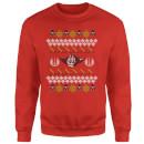star-wars-yoda-lichtschwert-weihnachtspullover-rot-s-rot