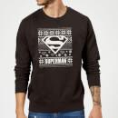 dc-superman-logo-weihnachtspullover-schwarz-s-schwarz
