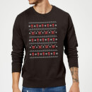marvel-deadpool-weihnachtspullover-schwarz-m-schwarz, 28.99 EUR @ sowaswillichauch-de