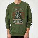 star-wars-darth-vader-weihnachtspullover-grun-m-grun