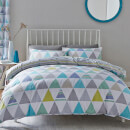catherine-lansfield-geo-triangles-duvet-set-single-bunt
