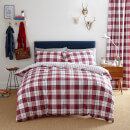 catherine-lansfield-henley-check-duvet-set-king-rot