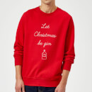 let-christmas-be-gin-sweatshirt-rot-s-rot