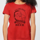 the-most-wonderful-time-for-a-beer-women-s-t-shirt-red-s-rot