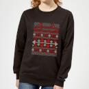 merry-christmas-ya-fitness-animal-frauen-sweatshirt-schwarz-xxl-schwarz
