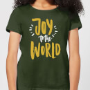 joy-to-the-world-forest-green-women-s-t-shirt-l-forest-green
