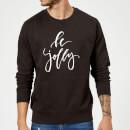 be-jolly-sweatshirt-schwarz-4xl-schwarz