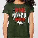 the-most-wonderful-time-women-s-t-shirt-forest-green-s-forest-green