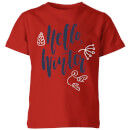 hello-winter-red-kids-t-shirt-7-8-years-rot