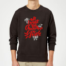 all-i-want-for-christmas-sweatshirt-schwarz-3xl-schwarz