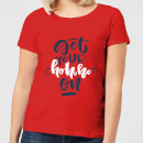 get-your-ho-ho-ho-on-women-s-t-shirt-red-s-rot