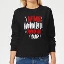 the-most-wonderful-time-frauen-sweatshirt-schwarz-s-schwarz