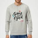 santa-did-good-sweatshirt-grau-4xl-grau, 28.49 EUR @ sowaswillichauch-de