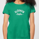 "Camiseta Navidad ""Gluhwein Tester"" - Mujer - Verde brillante"