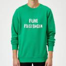 fijne-feestdagen-kelly-green-sweatshirt-s-kelly-green