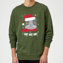 ho-ho-ho-sweatshirt-grun-m-kelly-green