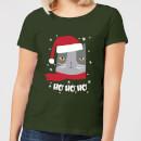ho-ho-ho-women-s-t-shirt-forest-green-s-forest-green