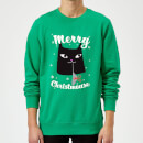 merry-christmouse-kelly-green-sweatshirt-xxl-kelly-green, 28.49 EUR @ sowaswillichauch-de