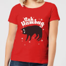 bah-humbug-red-women-s-t-shirt-xl-rot