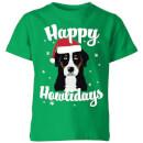 happy-howlidays-kids-t-shirt-kelly-green-3-4-jahre-kelly-green