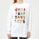 merry-dogmas-frauen-sweatshirt-wei-s-wei-