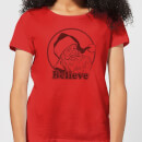 believe-red-women-s-t-shirt-red-s-rot
