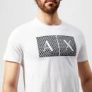Armani Exchange Men's Box Logo T-Shirt - White