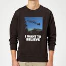 i-want-to-believe-sweatshirt-schwarz-3xl-schwarz