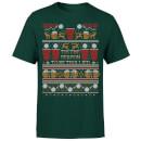 tis-the-season-to-be-trollied-t-shirt-forest-green-m-forest-green