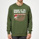 hangin-at-the-north-pole-kelly-green-sweatshirt-m-kelly-green