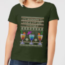 its-beginning-to-look-a-lot-like-cocktails-women-s-t-shirt-forest-green-xl-forest-green