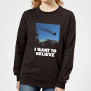i-want-to-believe-frauen-sweatshirt-schwarz-3xl-schwarz