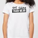 eat-clean-train-mean-women-s-t-shirt-white-l-wei-, 17.49 EUR @ sowaswillichauch-de