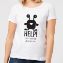 help-ive-created-a-monster-women-s-t-shirt-white-s-wei-