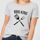 bbq-king-women-s-t-shirt-grey-xxl-grau