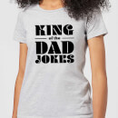 king-of-the-dad-jokes-grey-women-s-t-shirt-xxl-grau