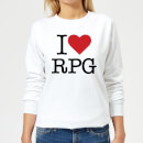 i-love-rpg-women-s-sweatshirt-white-xxl-wei-