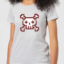 you-are-dead-gaming-women-s-t-shirt-grey-l-grau