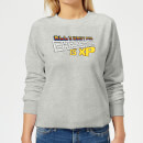 all-i-want-for-xmas-is-xp-frauen-sweatshirt-grau-3xl-grau
