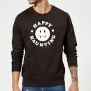 happy-haunting-black-sweatshirt-m-schwarz, 18.99 EUR @ sowaswillichauch-de