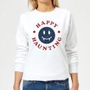 happy-haunting-fang-women-s-sweatshirt-white-5xl-wei-, 18.99 EUR @ sowaswillichauch-de