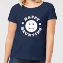 happy-haunting-navy-women-s-t-shirt-l-marineblau