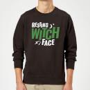 resting-witch-face-sweatshirt-black-s-schwarz