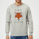 zero-fox-given-sweatshirt-grey-m-grau