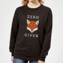 zero-fox-given-women-s-sweatshirt-black-m-schwarz