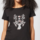 ho-ho-ho-women-s-t-shirt-black-xl-schwarz