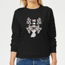 ho-ho-ho-women-s-sweatshirt-black-xl-schwarz