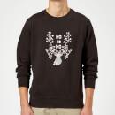 ho-ho-ho-sweatshirt-black-m-schwarz